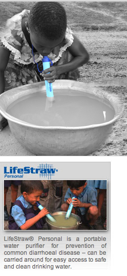 LifeStraw - Clean Water for $2 - Kill Disease As You Drink